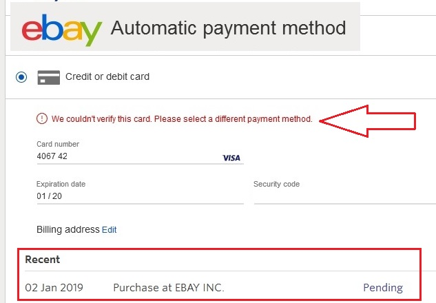 Alternatives To Entropay Closing Down Virtual Credit Card Vcc Ebay Suspended Paypal Limited Forums