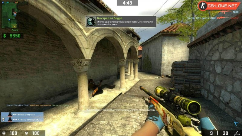 Counter-Strike Source - CSGO Style [v.90] (2004/PC/Русский), RePack