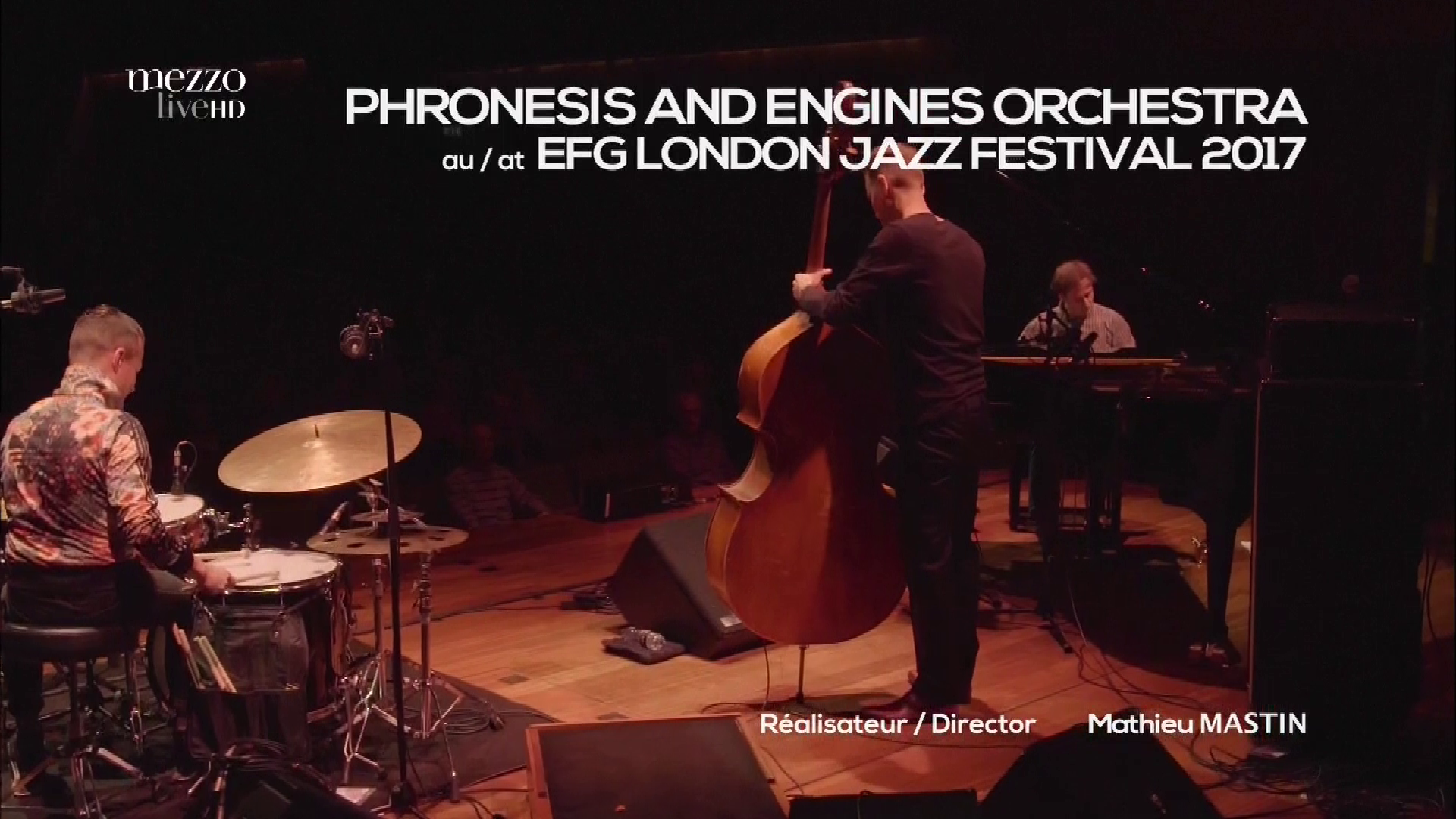 2017 Phronesis & Engines Orchestra - At EFG London Jazz Fest [HDTV 1080i] 0