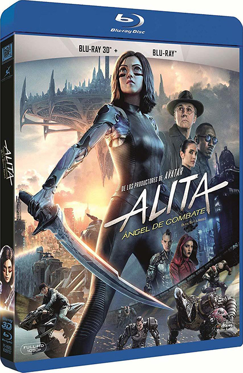 Алита: Боевой ангел / Alita: Battle Angel (2019) BDRemux 1080p от селезень | 3D-Video | Лицензия