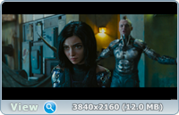 Алита: Боевой ангел / Alita: Battle Angel (2019) | UltraHD 4K 2160p + Blu-Ray EUR (2160p)