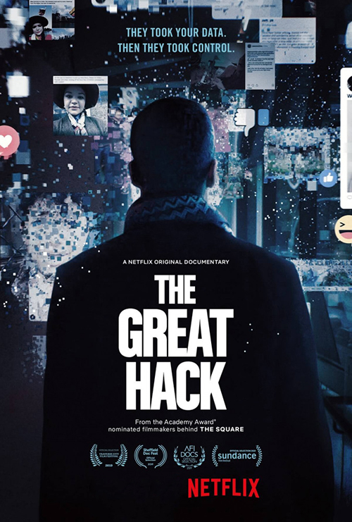 Большой хак / The Great Hack (2019) WEB-DLRip 1080p от селезень | Netflix