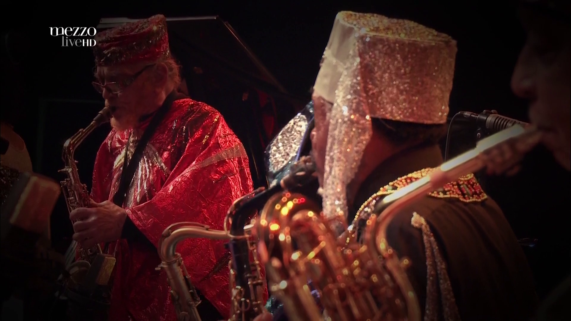 2015 Sun Ra - On Stage With Ra At Banlieues Bleues [HDTV 1080i] 5