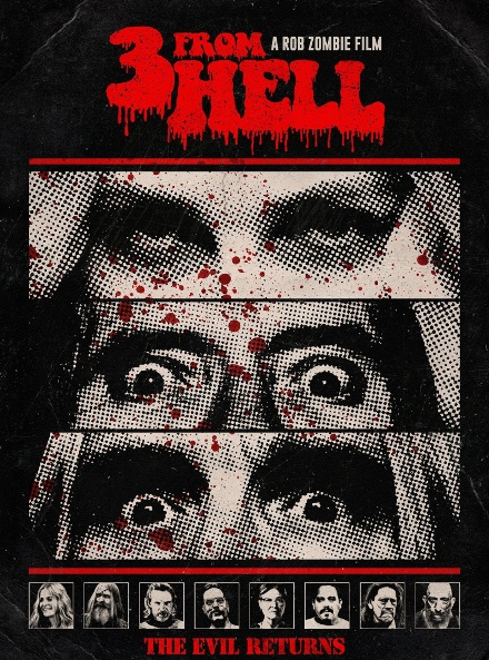 Трое из ада / 3 from Hell / Three from Hell (2019) BDRip | Unrated | LakeFilms