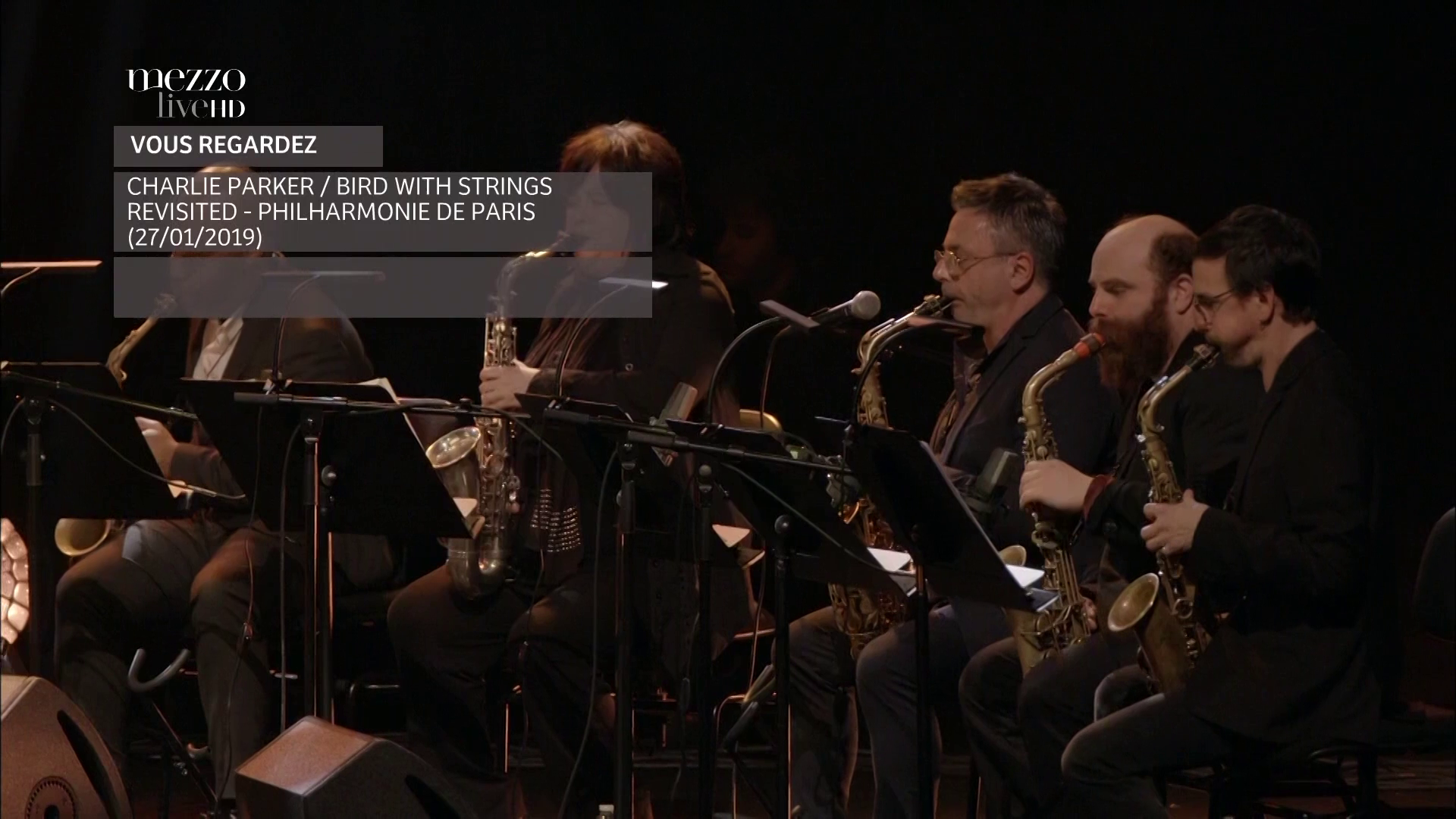 2019 Jazz At The Philharmonie - Charlie Parker - Bird With Strings Revisited [HDTV 1080p] 2