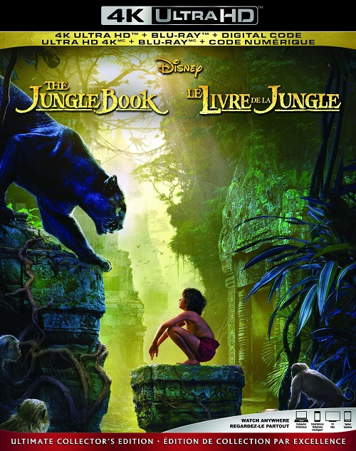 Книга джунглей / The Jungle Book (2016) BDRip 2160p | HDR | Лицензия