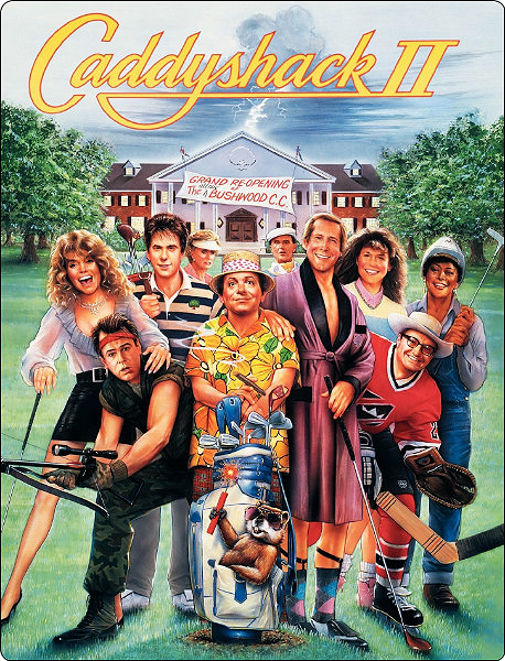 Гольф-клуб 2 / Caddyshack II (1988) WEB-DLRip-AVC от ExKinoRay | P