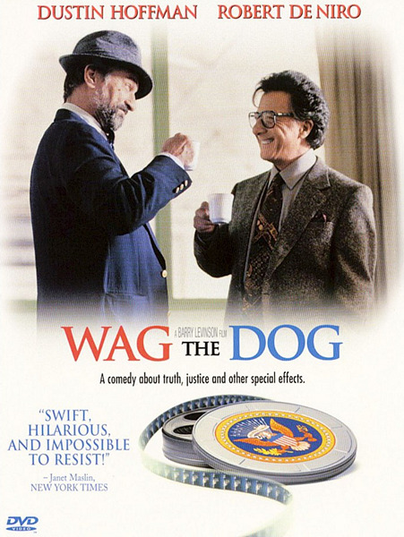 Плутовство / Wag the Dog (1997) DVDRip-AVC | P, A | Fullscreen