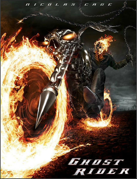 Призрачный гонщик / Ghost Rider (2007) WEB-DLRip-AVC от ExKinoRay | D | Open Matte | Theatrical Cut